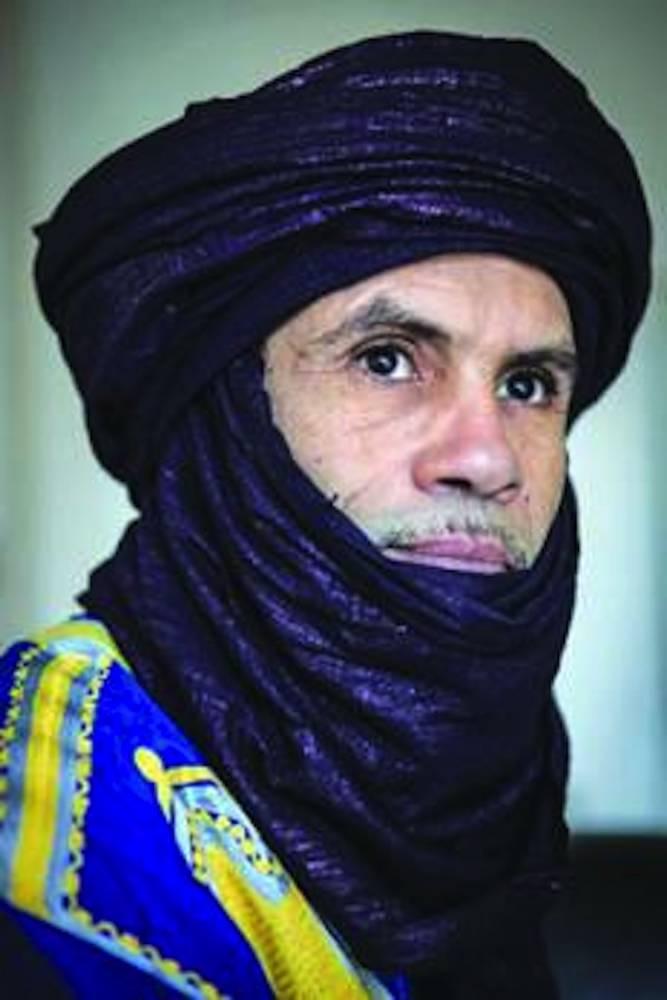 Hama Ag Sid'Ahmed, porte-parole du MNLA.  ©  DR