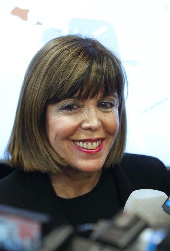 Joëlle Ceccaldi-Raynaud, le 4 décembre 2009 à La Défense, près de Paris © PATRICK KOVARIK AFP/Archives
