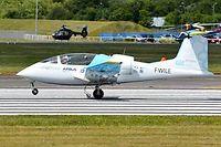 Mue aussi par un moteur électrique, la roue principale du train d'atterrissage participe à l'accélération lors du décollage. ©JEAN-VINCENT REYMONDON