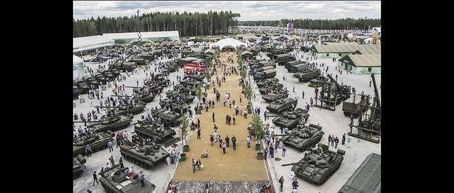 Le nouveau parc d'attractions militaire inauguré mardi par Vladimir Poutine.