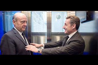 Sur la plateforme de paris Hypermind, Sarkozy chute au profit de Juppé. ©VALENTE/E-PRESSPHOTO.COM
