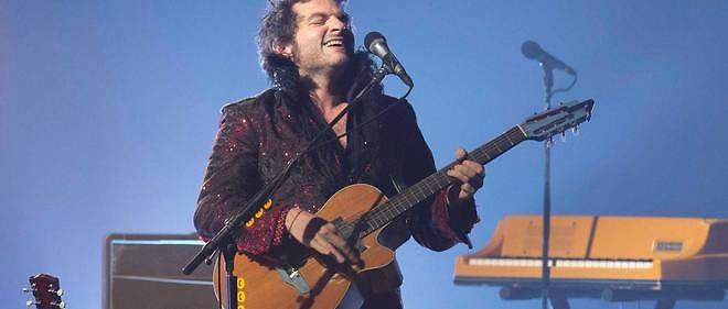 Matthieu Chedid en concert à Nice, en 2013.