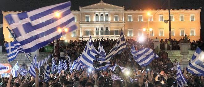 En votant non, à la demande d'Alexis Tsipras, les électeurs grecs ont-ils voulu signifier leur refus de l'austérité ou leur volonté de sortir de l'euro? (Photo d'illustration).