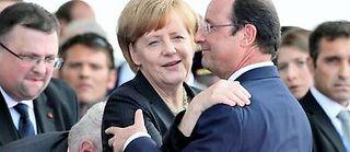 Paris et Berlin restent les deux piliers de cette Europe plutôt mal en point. ©ALAIN JOCARD