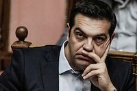 Le Premier ministre grec Alexis Tsipras, Photo d'illustration. ©DIMITRI MESSINIS