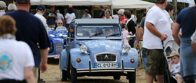 Au festival des Vieilles Mécaniques à Vieux-Berquin, les concurrents étaient invités à bien gérer les problèmes de surchauffe à bord.
