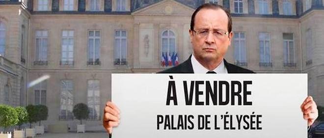 Un site de crowdfunding dédié à l'immobilier proposait le 14 juillet aux Français de racheter fictivement l'Élysée.
