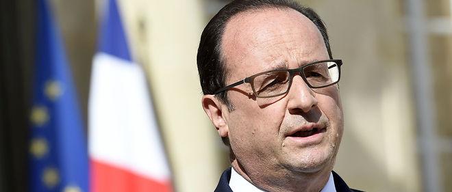 Le président français François Hollande, Photo d'illustration.