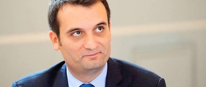 """Pour Florian Philippot, Jean-Marie Le Pen """"est dans une stratégie de terre brûlée pour lui-même""""."""