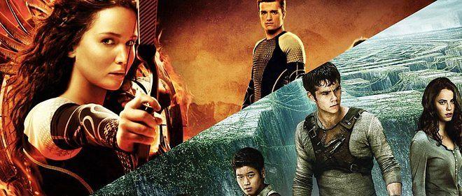 """""""Hunger Games"""" vs """"Le Labyrinthe"""", duel de bande-annonces."""