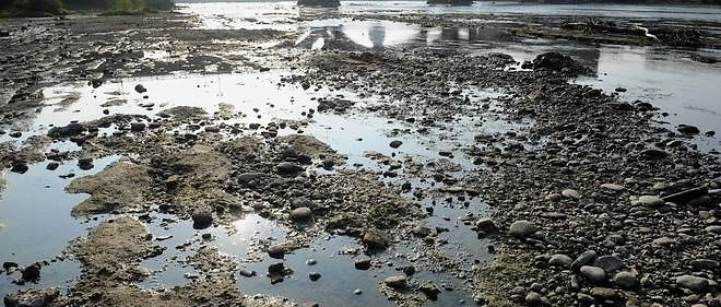 De nombreux bassins sont asséchés dans le sud de la France, alors que les cours d'eau sont au plus bas (Photo d'illustration).