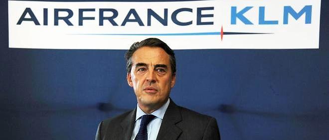 Le PDG d'Air France-KLM, Alexandre de Juniac, a annoncé un important plan d'économies.