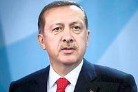 Le président turc Recep Tayyip Erdogan a lancé une guerre totale contre l'organisation État islamique. ©STEFAN BONESS/IPON-BONESS/SIPA