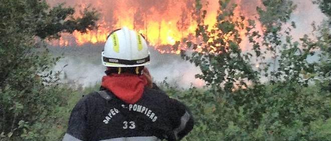 Près de 150 pompiers ont été mobilisés vendredi 24 juillet en raison d'incendies en Gironde.