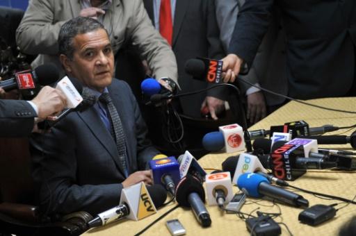 Le juge Mario Carroza à Santiago, le 8 novembre 2013 © Hector Retamal AFP/Archives