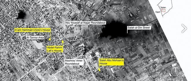 """Le rapport """"Black Friday : carnage à Rafah"""" se fonde sur """"des centaines de photos et de vidéos, des images satellite et des témoignages de première main"""""""