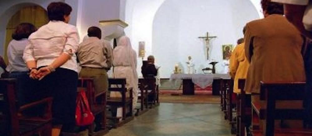 Dans une église au Maroc ©  DR