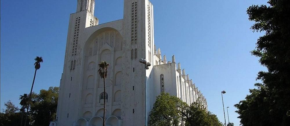 La Cathédrale Sacré-Coeur de Casablanca. ©  DR