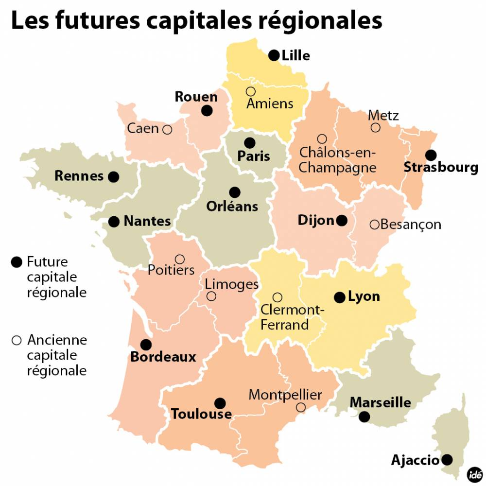 France-13regions-Capitales