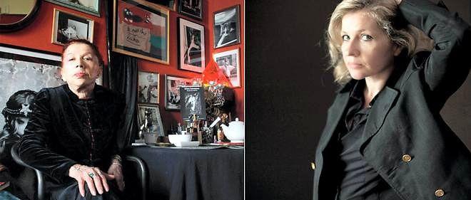d24818bc3744 La photographe Irina Ionesco (à gauche) a réalisé des images érotiques de  sa fille