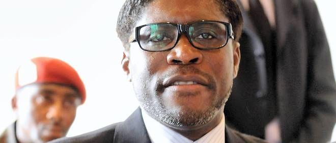 Teodorin Obiang, fils du président de Guinée équatoriale, en 2012.