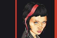 Lisbeth Salander en couverture du tome 4 de