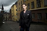 David Lagercrantz, journaliste et écrivain suédois photographié à Stockholm le 24 juin 2015, avant le tourbillon médiatique lié à la sortie du tome 4 de