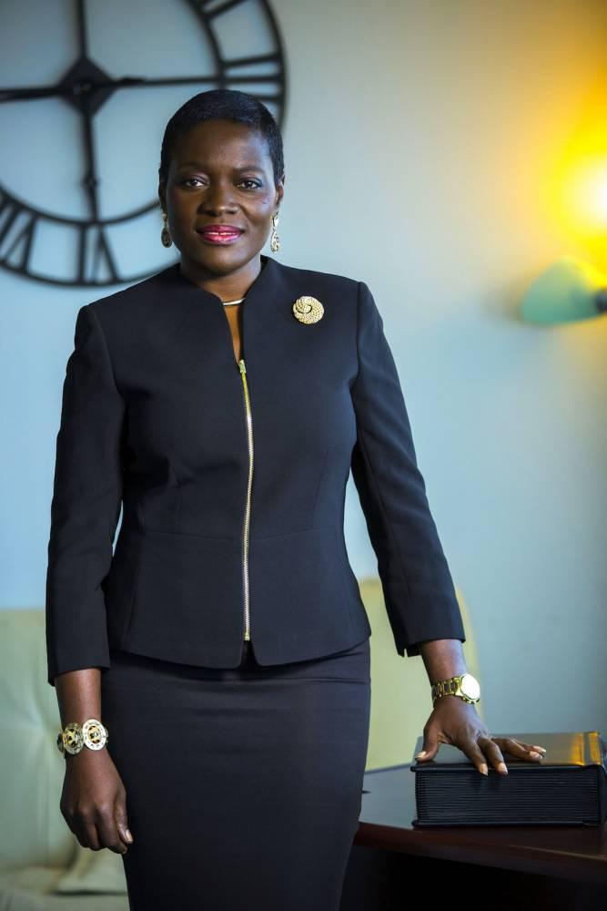 Angelle Kwemo, une pasionaria du rapprochement entre l'Afrique et les États-Unis.