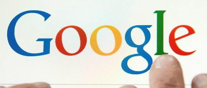 Le logo de Google, Photo d'illustration.