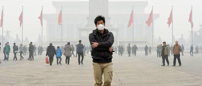 Photo d'illustration. La pollution atmosphérique est d'autant plus nocive en hiver, car les Chinois se chauffent au charbon et l'air pollué reste près du sol en raison du froid.