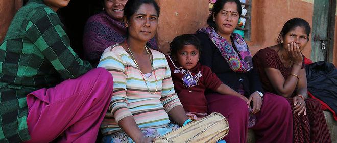 Communaute badie de Tulsipur, dans le district de Dang.