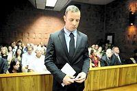 Le parquet sud-africain a fait appel lundi de la condamnation de l'ex-champion paralympique Oscar Pistorius pour « homicide involontaire », estimant que la juge aurait dû le condamner pour « meurtre ». ©STEPHANE DE SAKUTIN
