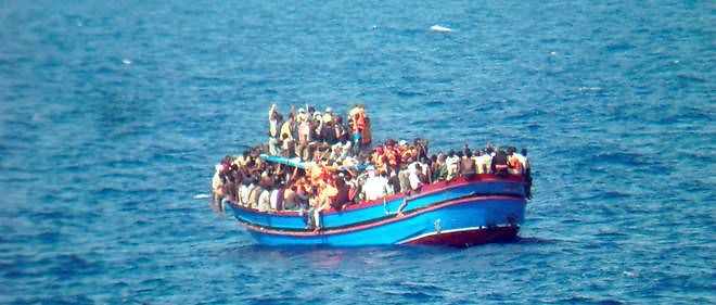 Un bateau de migrants (photo d'illustration).