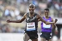 Mo Farah sera l'une des attractions des championnats du monde de Pékin. ©Alain GROSCLAUDE