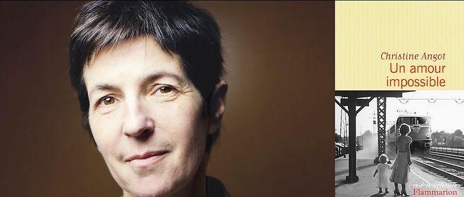 """En cette rentrée littéraire 2015, Christine Angot continue d'explorer la thématique de l'inceste dans """"Un amour impossible""""."""