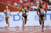 Le coureuse de 400 mètres Joyce Zakary a fait partie des deux athlètes kényanes suspendues par la fédération internationale d'athlétisme. ©Olivier MORIN