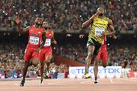 Usain Bolt et Justin Gatlin ont rendez-vous en finale de 200 m. ©Olivier MORIN
