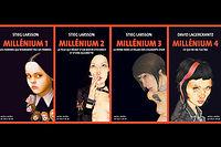 Les 4 tomes de Millénium