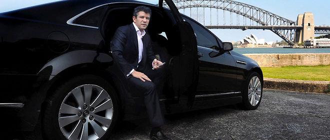 Le fondateur d'Uber, Travis Kalanick, à Sydney en 2012.