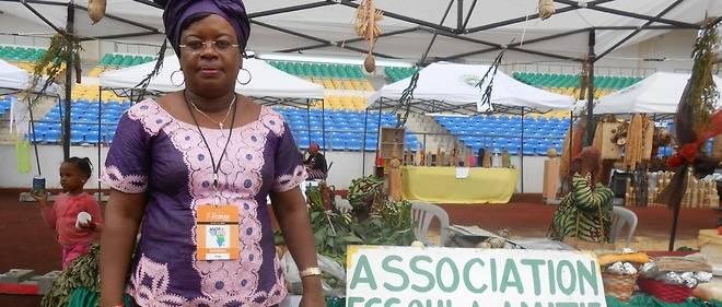 """Pour la Gabonaise Rachel Abaneth, il s'agit de """"trouver des stratégies devant permettre de rendre la femme africaine plus autonome""""."""