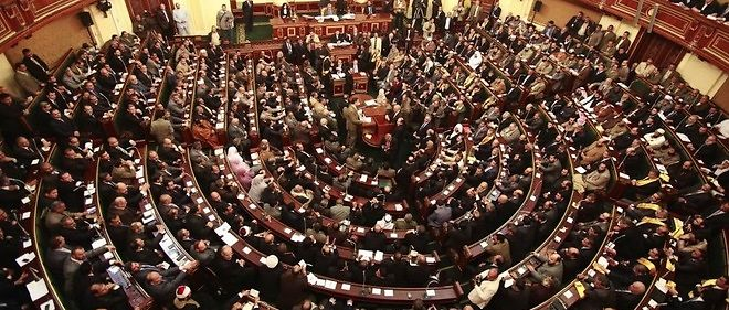 Le Parlement egyptien, photo d'illustration.