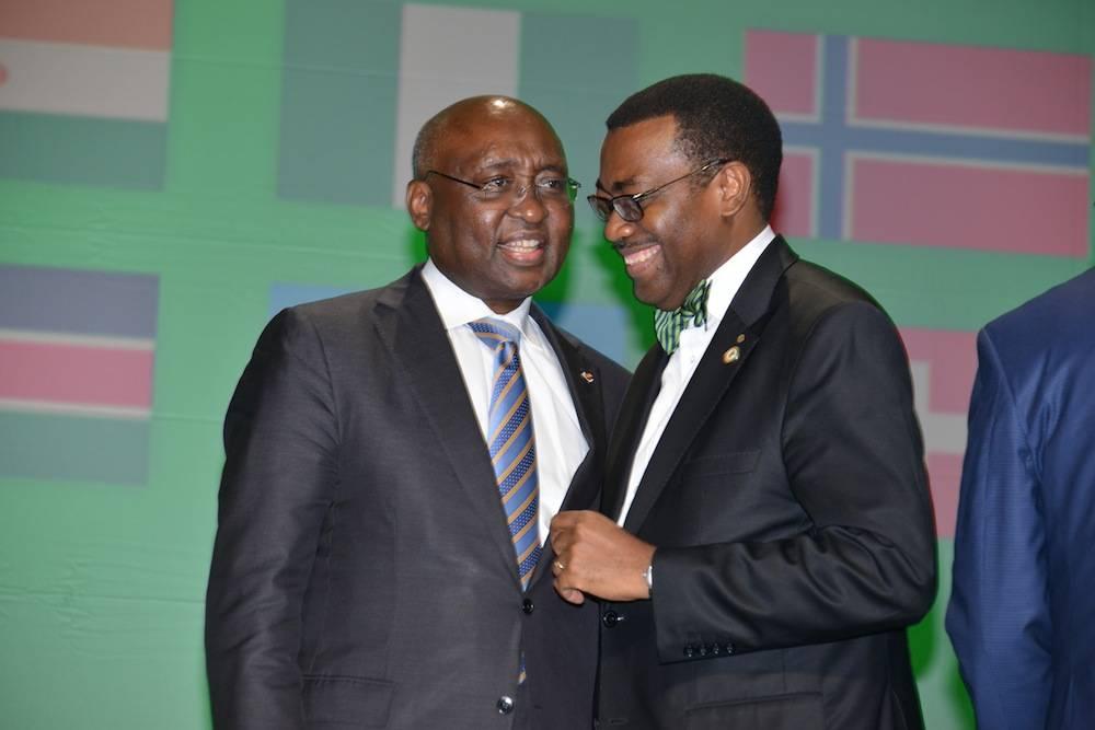 Dr. Akinwumi ADESINA et Donald KABERUKA ©  BAD