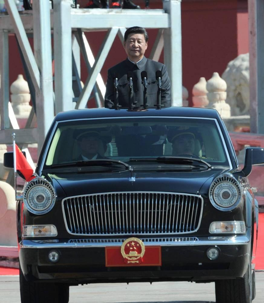 Chine Xi Jingping © Mitsuru Tamura SQUARE FORMAT/AFP