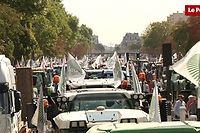 Pour une majorité d'agriculteurs en France, la grande distribution doit baisser ses marges pour mettre fin à la crise agricole. ©Pauline Tissot