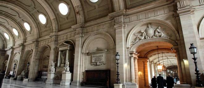 Au tribunal correctionnel de Paris (ilustration). (C)JOEL SAGET