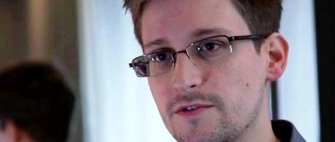 L'ancien consultant de la NSA, l'Américain Edward Snowden.
