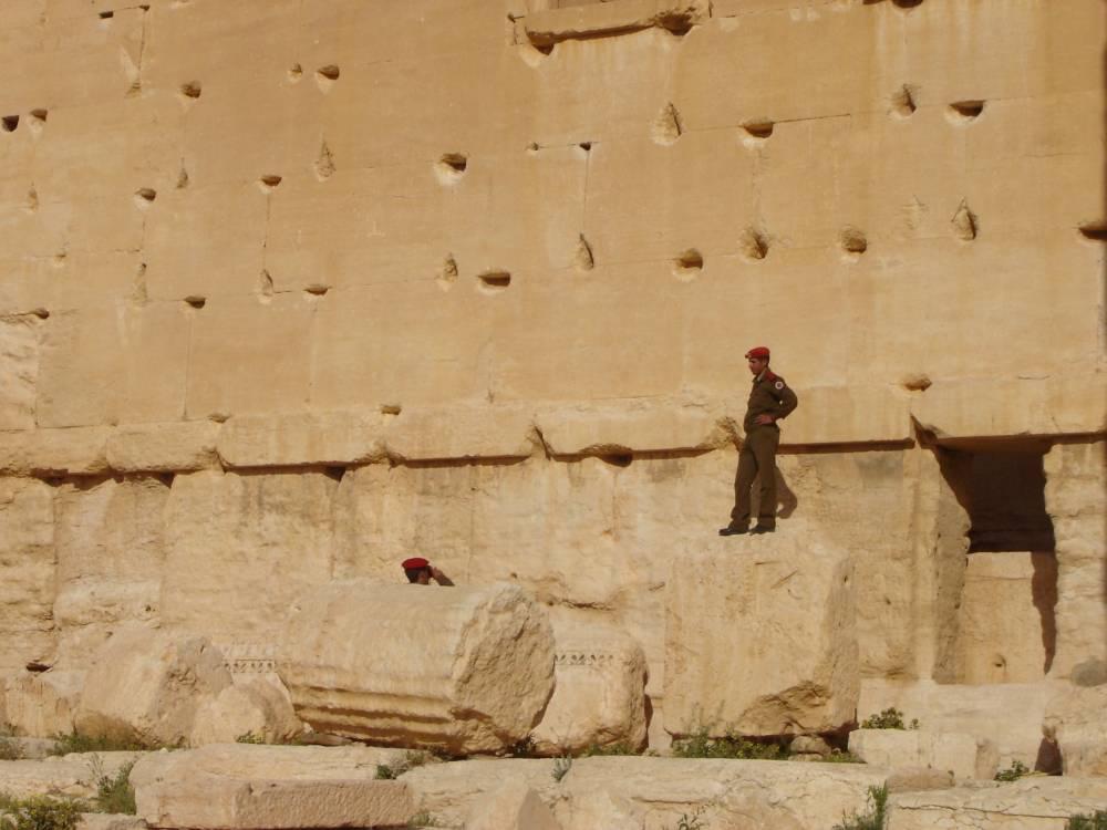 Le temple de Bel, à Palmyre, en 2009. © Guerric Poncet