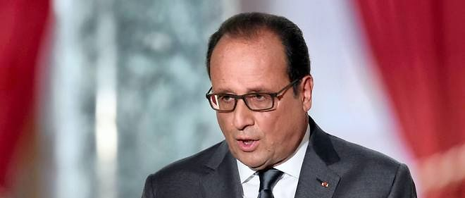 Francois Hollande, le 7 septembre a l'Elysee.  AFP PHOTO / ALAIN JOCARD