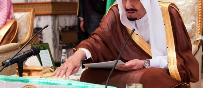 Les Saoudiens ont pris la tête d'une coalition sunnite de pays du Golfe et rassemblé des troupes pour reconquérir le Yémen. ©SPA