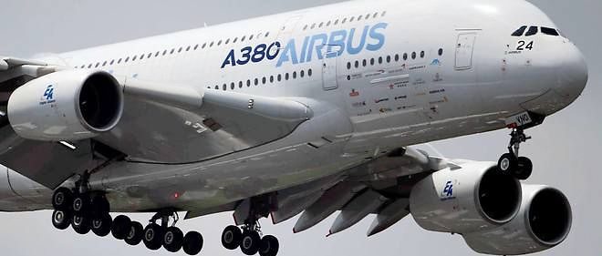 Un Airbus A380, photo d'illustration.
